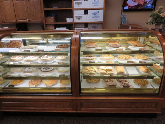 Blue Gate Restaurant and Bakery: A few offerings from the bakery