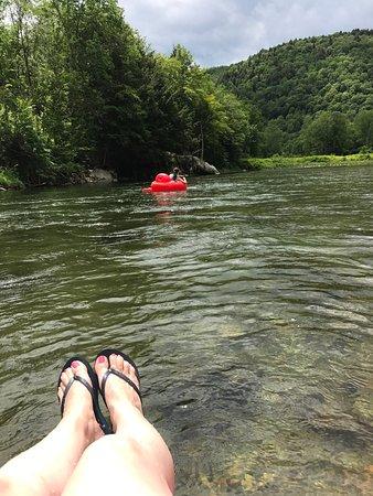 Stockbridge, Βερμόντ: Vermont River Tubing