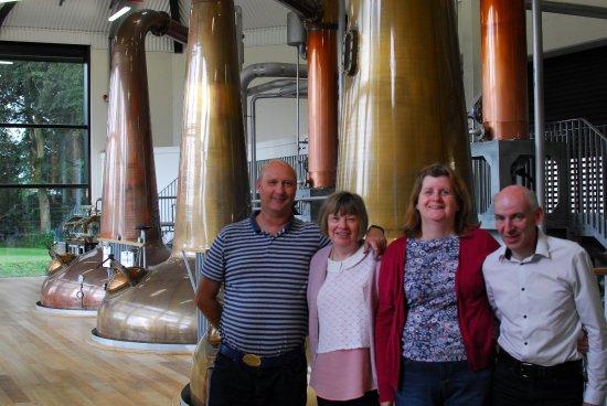 Royal Oak Distillery: The still room