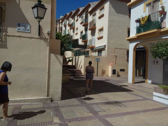 Calle San Miguel: At the top of the stairs turn left, then right into an alley