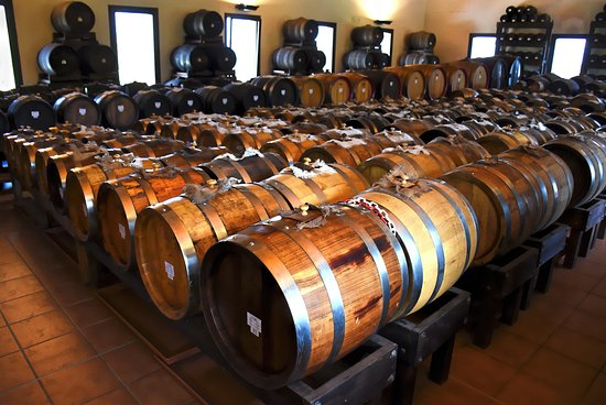 Marano sul Panaro, Italy: Barrels storing aged balsamic vinegar in different stages