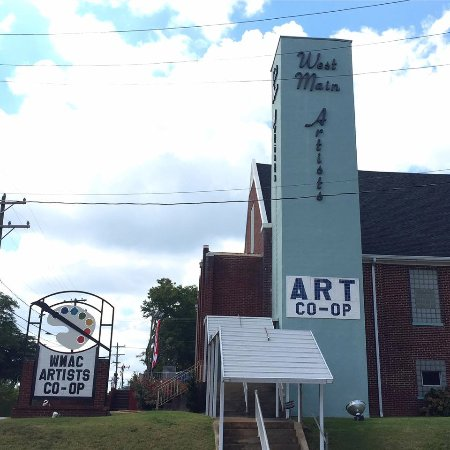 Spartanburg, Carolina Selatan: West Main Artists Co-Op