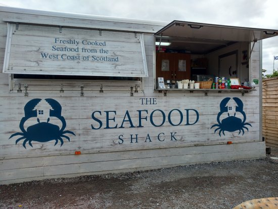 The Seafood Shack: Warming us up on a breezy day