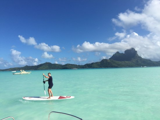 Kite Surf School Polynesie: paddle boarding