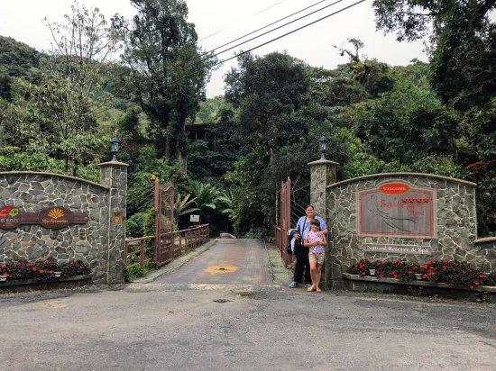Savegre Hotel, Natural Reserve & Spa: Entrance to Savegre