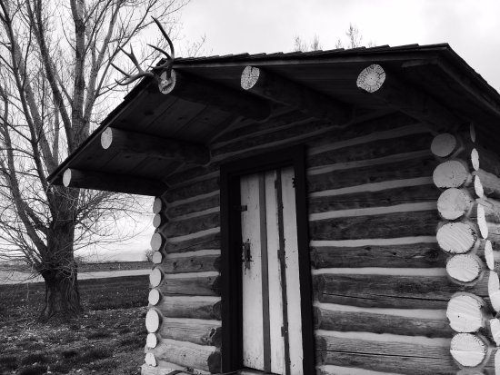 Hardin, MT: Will James Studio Cabin