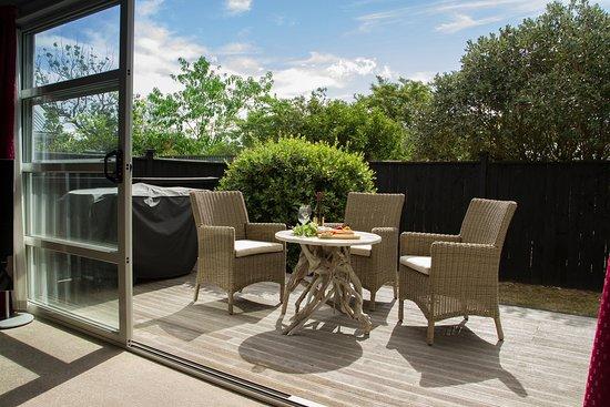 Martinborough, Nya Zeeland: BBQ and private deck