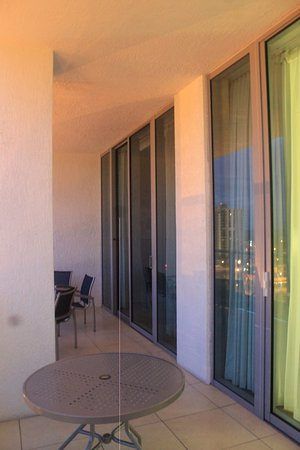 Residence Inn Fort Lauderdale Intracoastal/Il Lugano: the balcony