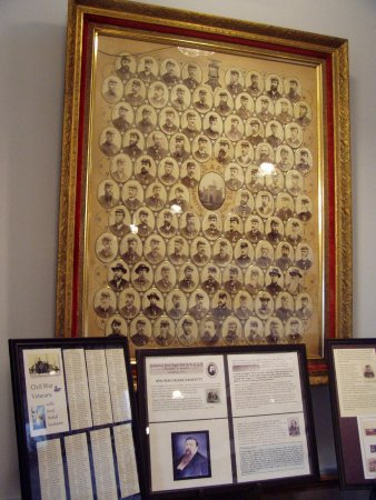 Photos of many of Litchfield's Civil War Vets.