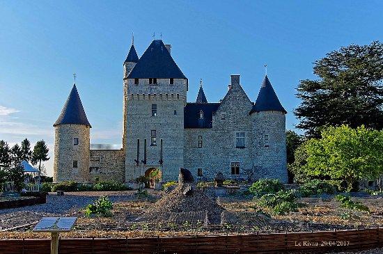 Chateau du Rivau: Château du Rivau - Lémeré 37 (avril 2017)