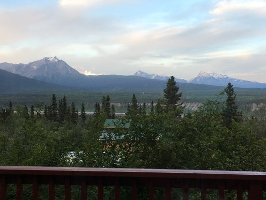 McCarthy, AK: The view from Kennicott cabin