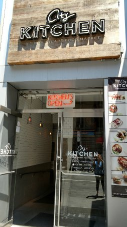 entrance for city kitchen picture of city kitchen new york city