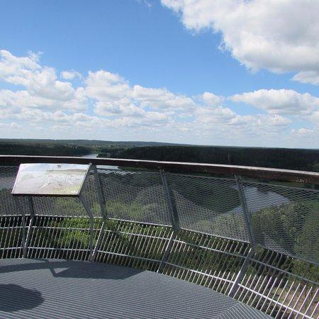 Merkine, Litauen: terrazza sula torre