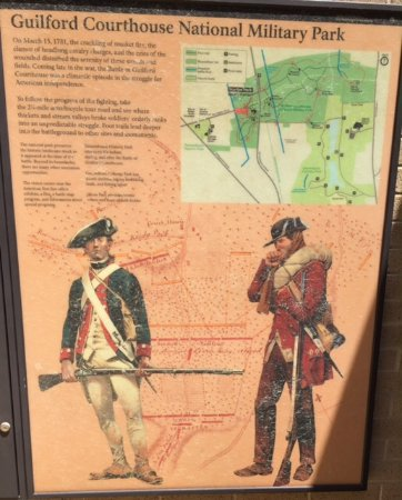 Guilford Courthouse National Military Park: Map