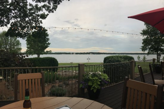 Delavan, WI: View from the Frontier Restaruant