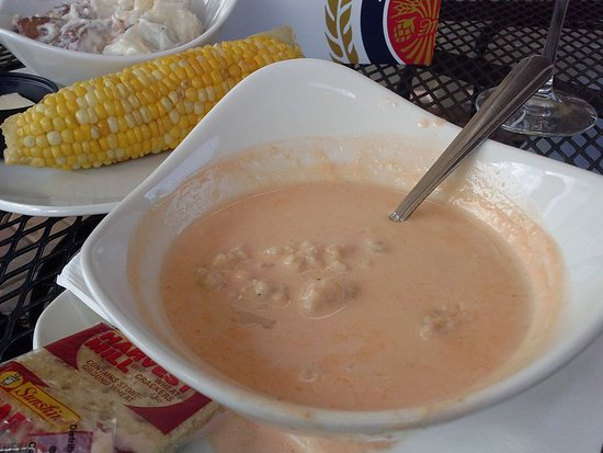 lobster bisque (the best ever) - picture of river house bar