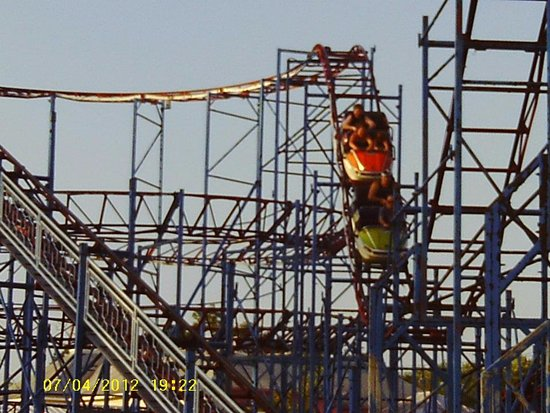 Sylvan Beach, NY: The Galaxi coaster