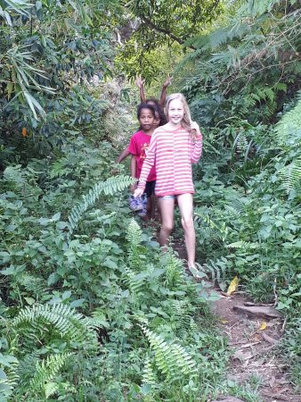 Matava - Fiji's Premier Eco Adventure Resort: Making friends in Fiji