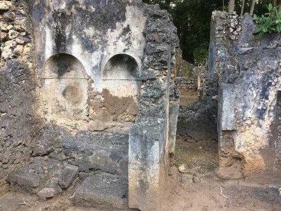 Gede, Kenya: 古蹟裡面