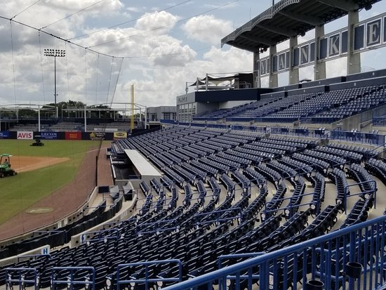George M. Steinbrenner Field: View of first base/right field stands