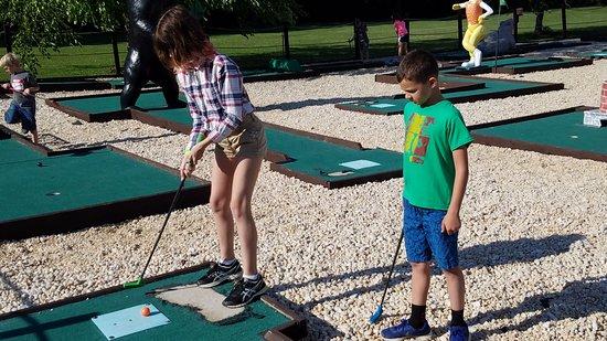 Gettysburg Campground: mini golf