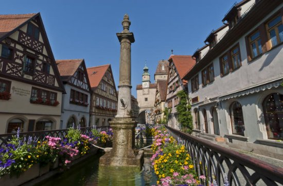Heidelberg, Rothenburg, Black Forest Tour from Frankfurt