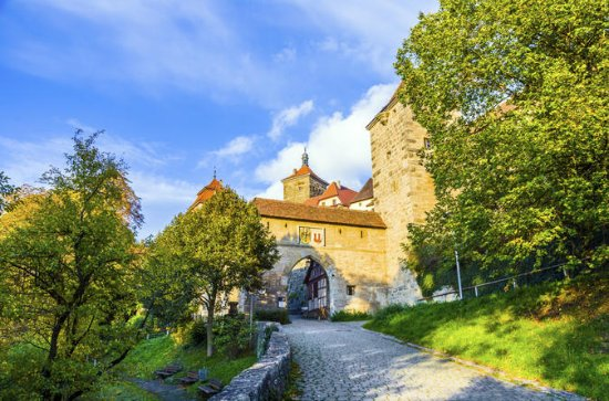 Private Tour: Rothenburg and Romantic...