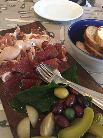 Greytown, New Zealand: The cured meat platter