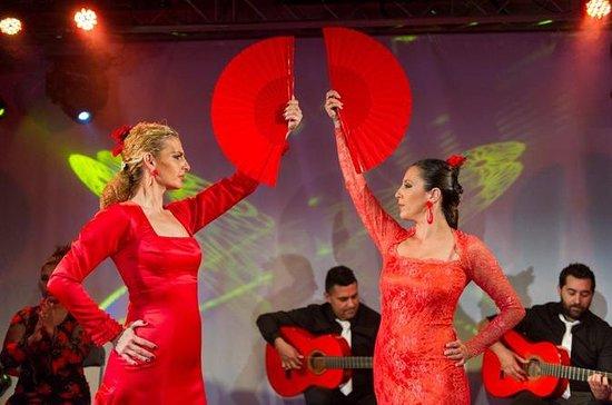 Flamenco Show at Plaza de las Arenas...