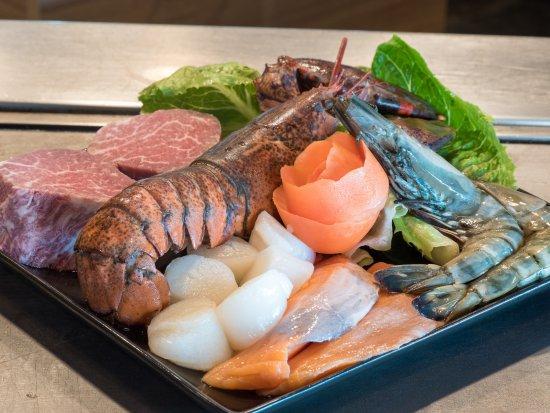 Fiesta Resort & Spa Saipan: Mai Teppanyaki platter