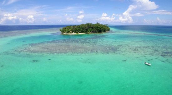 Solomon Islands: Hopei Island in Munda