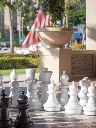 Fiesta Resort & Spa Saipan: Giant Chess
