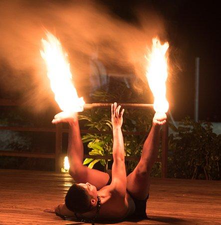 Fiesta Resort & Spa Saipan: Saipan's Best Cultural & Dance Show  - fire dance
