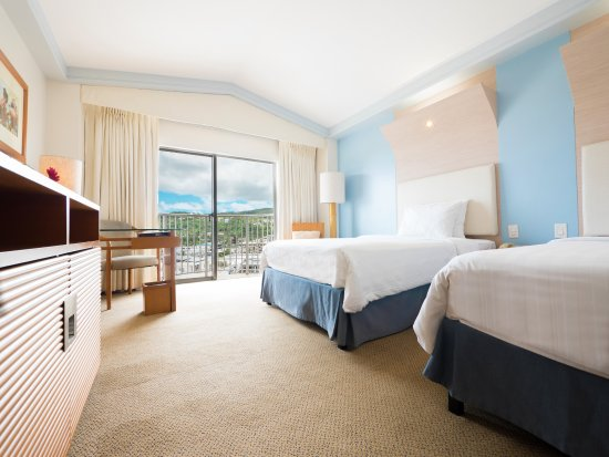 Fiesta Resort & Spa Saipan: Mountain View room twin