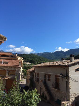 Guardiola de Bergueda, Spain: View from our room and the room