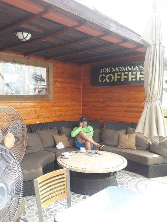 Avila Beach, Kalifornia: lounge area on roof top