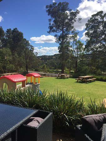 Enjoy the outdoors - Picture of Wild Bull Brewery, Henty