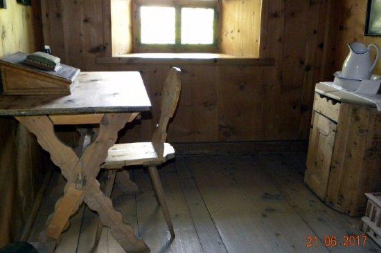 Santa Maria Val Müstair, Sveits: Particolare di una cella