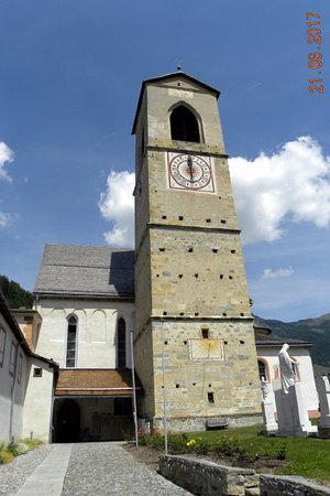 Santa Maria Val Mustair, Switzerland: Il campanile