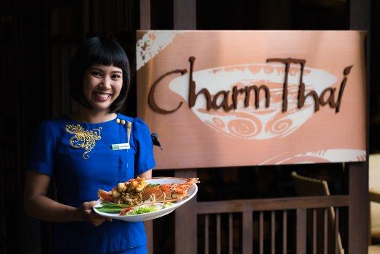 Charm Thai Restaurant at Holiday Inn Resort: Welcome to Charm Thai Restaurant