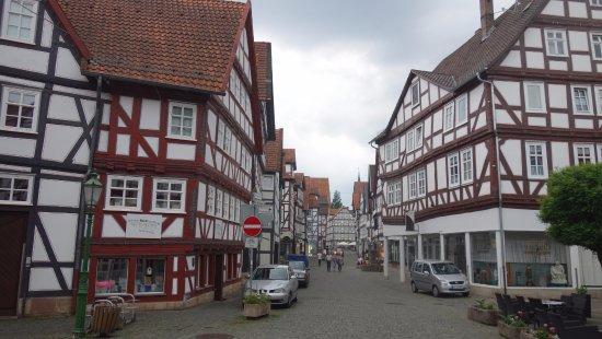 Melsungen, Jerman: Altstadt ligger bara fem minuters promenad från hotellet