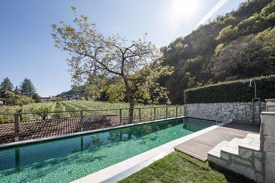 Pool bild von boutique hotel zum rosenbaum nalles nals for Meran boutique hotel