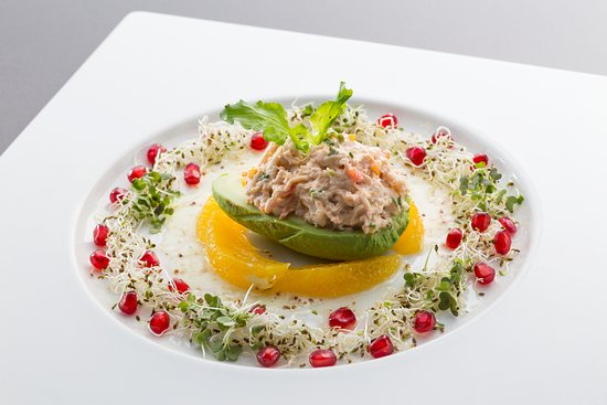 Sam's Steaks and Grill: Avocado Crab Salad