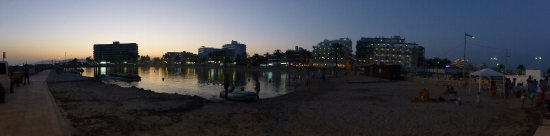 Evening over Cala Estancia