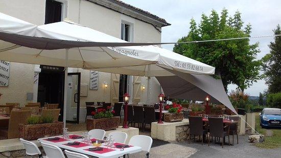 Montpeyroux, Francia: La terrasse