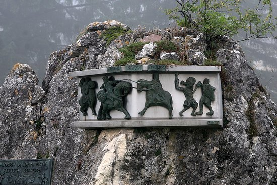 Orreaga-Roncesvalles, Spain: Monumento de la Batalla de Roncesvalles