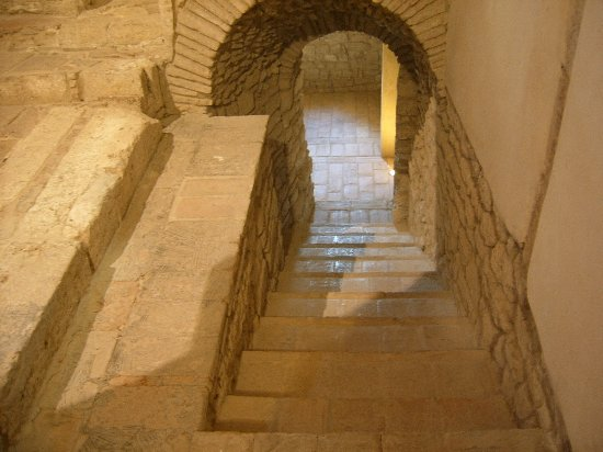 Narni, Italia: Ingresso Cripta