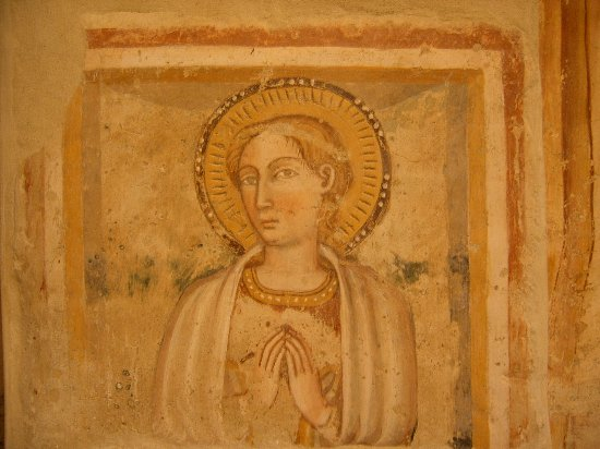 Narni, Italia: Affresco Santa Pudenziana