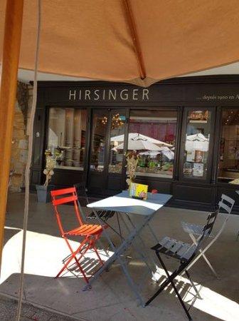 Hirsinger Chocolatier : terrasse