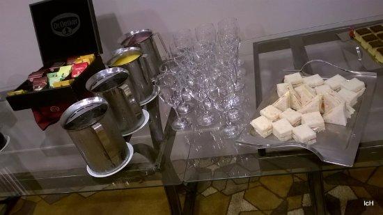 Hotel Sheraton: coffee break